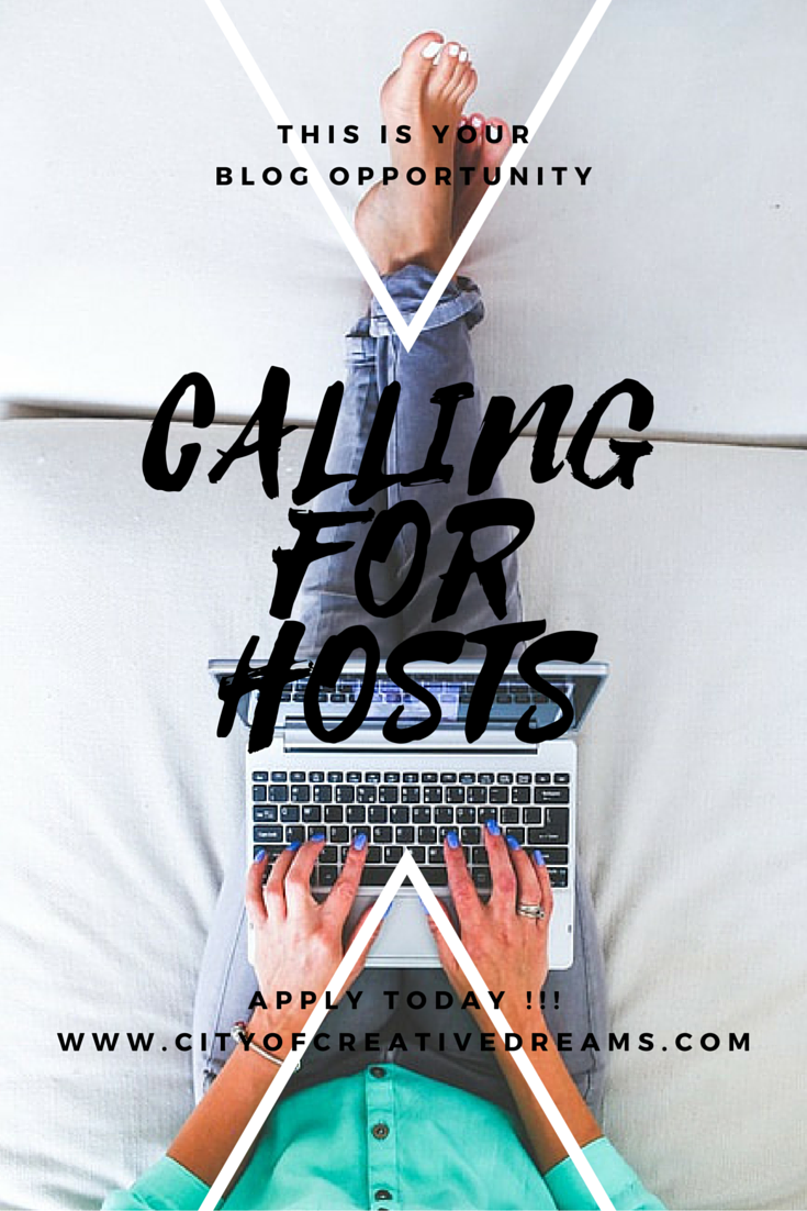 Blog Opportunity: Calling for Hosts 2016! | City of Creative Dreams
