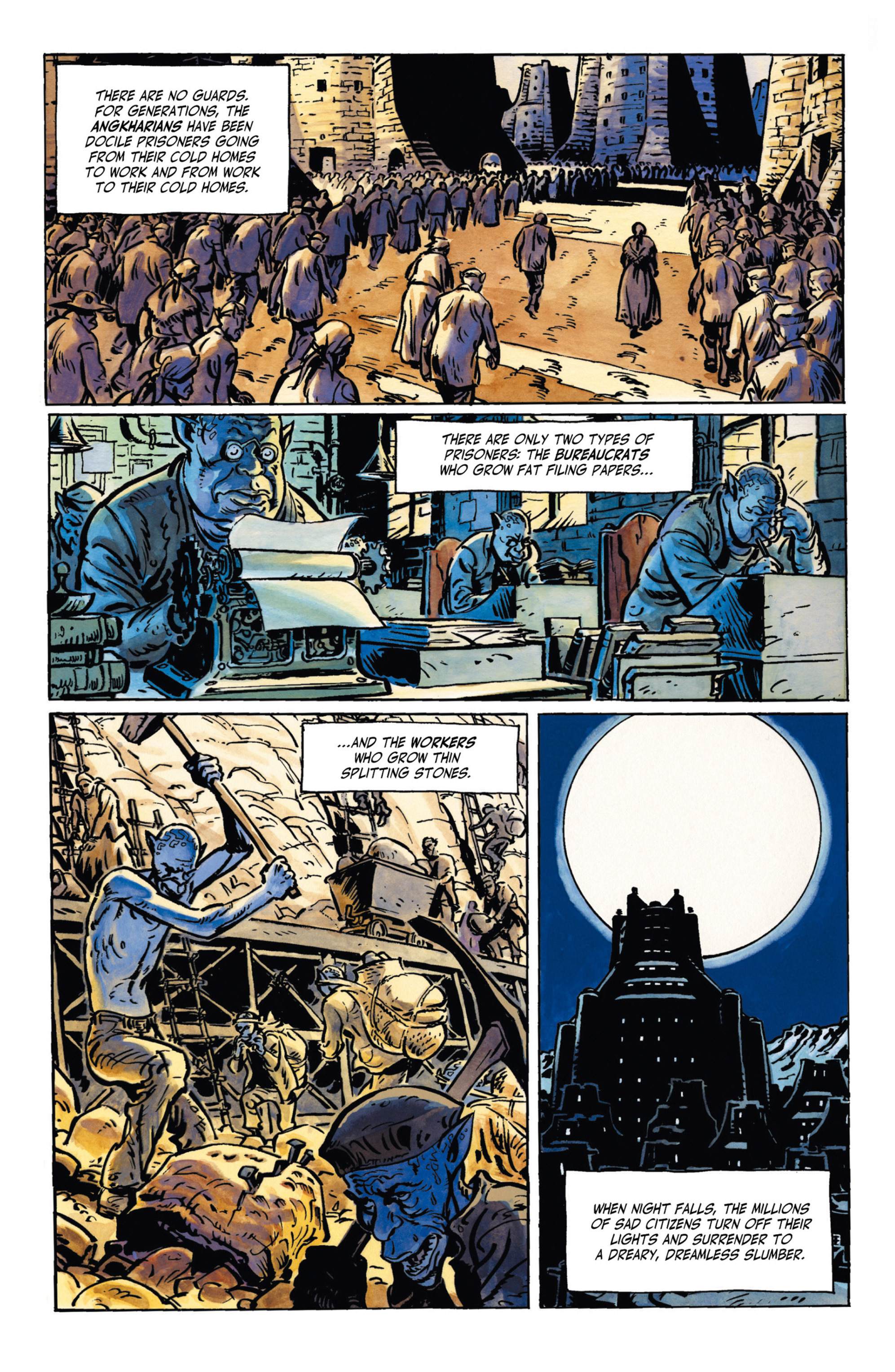 Read online Alejandro Jodorowsky's Screaming Planet comic -  Issue #1 - 25