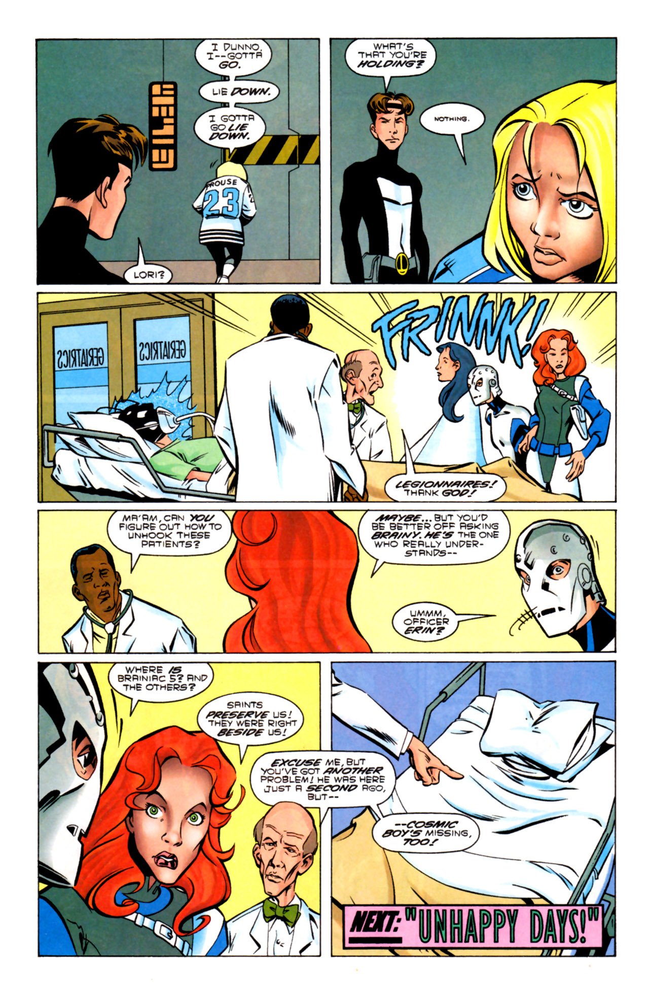 Legion of Super-Heroes (1989) 91 Page 21