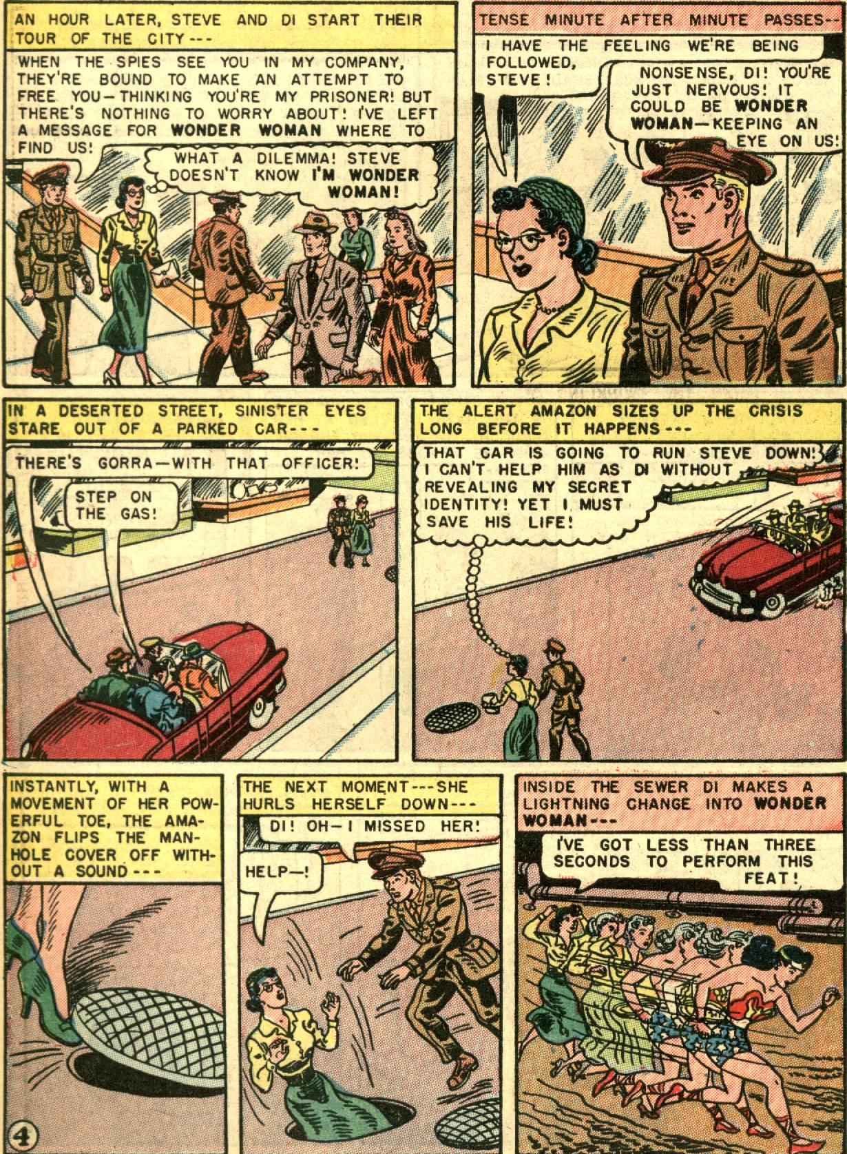 Read online Wonder Woman (1942) comic -  Issue #67 - 6