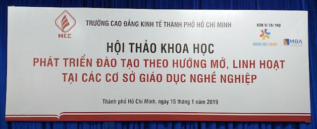 Demo: thực hành khai thác tài nguyên giáo dục nghề nghiệp mở tại trường Cao đẳng Kinh tế, TP. Hồ Chí Minh