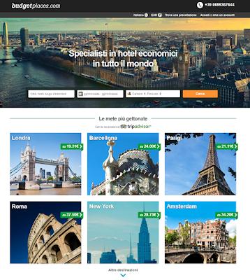 ENGRANDE BUDGET PLACE - alloggi turistici low-cost in Italia e nel Mondo!!