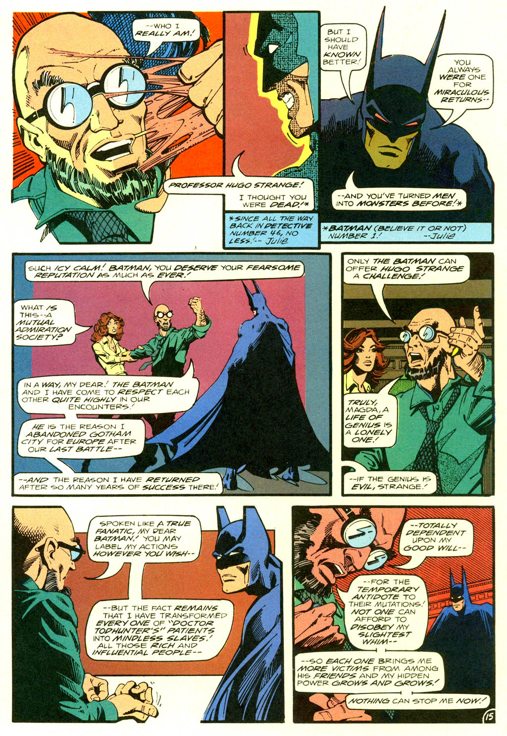 Read online Shadow of the Batman comic -  Issue #2 - 18