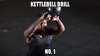 Kettlebell drills drill no. 1