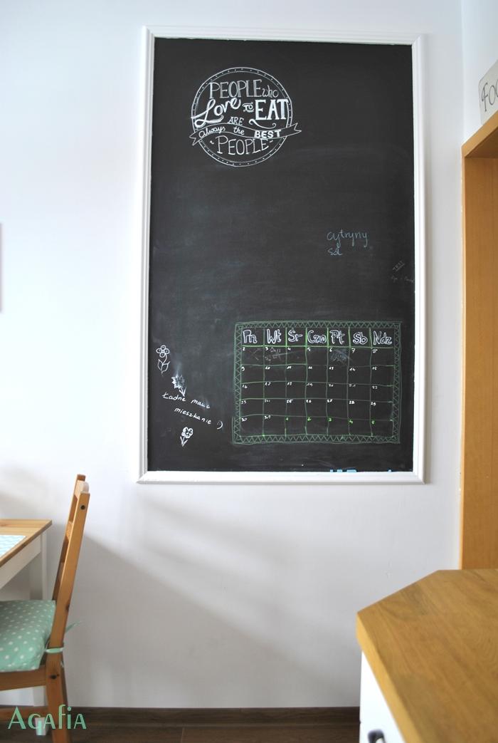 Jak pomalować ścianę farbą tablicową?
