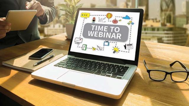Webminar dan Seminar