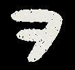 カタカナのペンキ文字「ヲ」