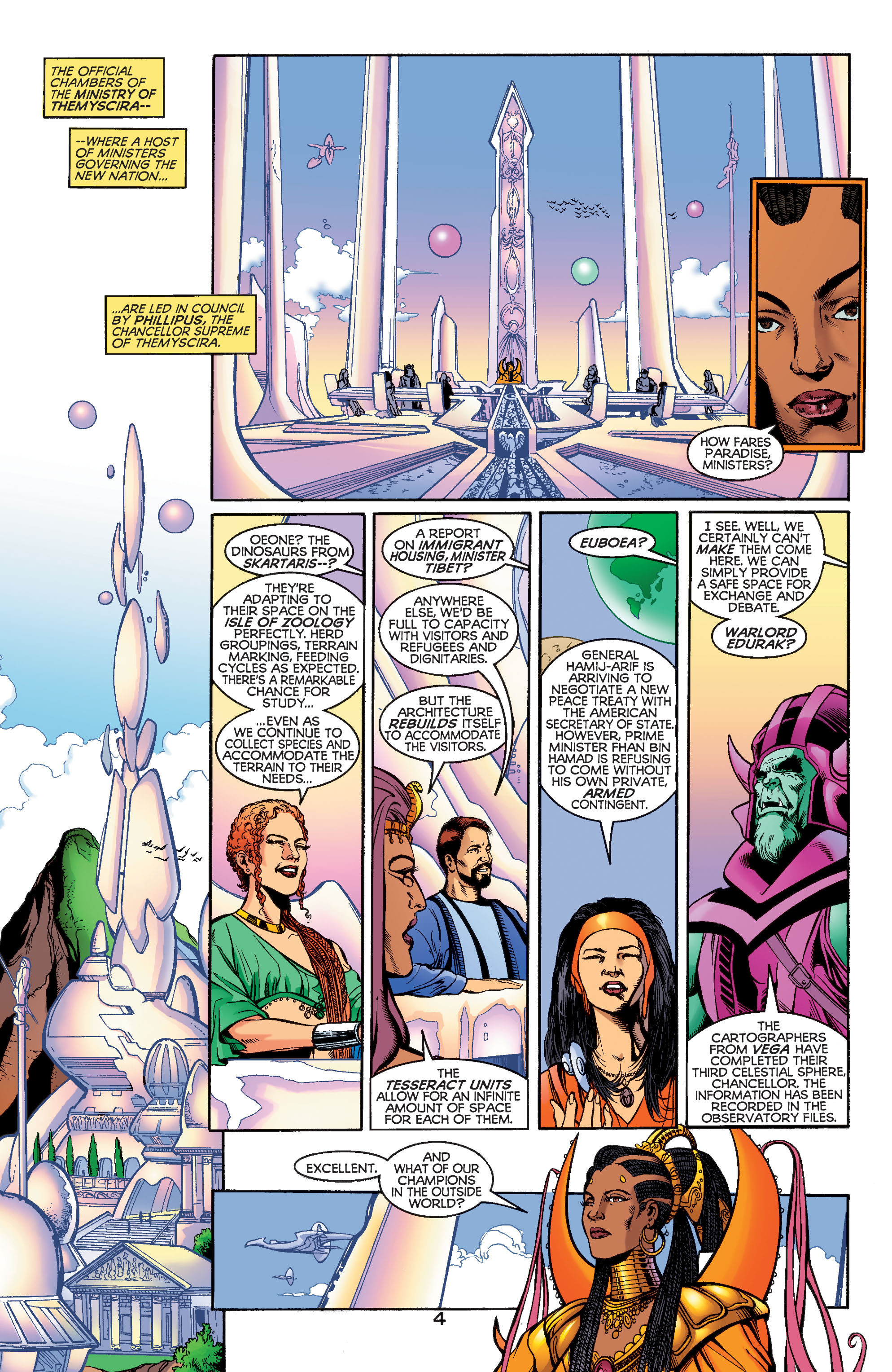 Read online Wonder Woman (1987) comic -  Issue #186 - 5