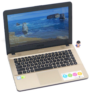 Laptop ASUS X441U Core i3 Double VGA Bekas di Malang