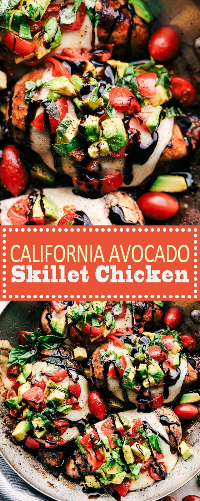 CALIFORNIA AVOCADO SKILLET CHICKEN