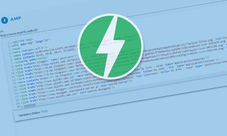 Video Merubah Blog Custom Template Menjadi Valid AMP HTML