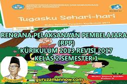 RPP KELAS 2 TEMA 3 SD/MI KURTILAS REVISI TAHUN PELAJARAN 2018 - 2019