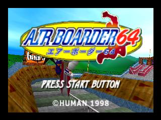 Airboarders 64 [Rom] [Español] [+Emulador PC] [MF]