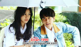 Download Lagu OST Dilan 1990 Rindu Sendiri Mp3 Gratis