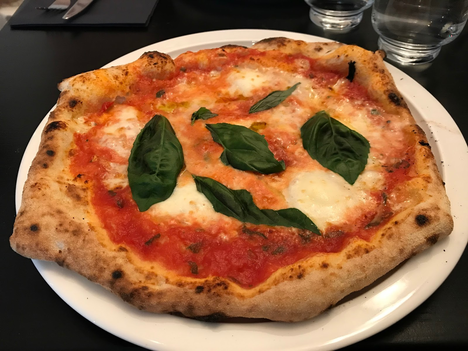 tulin näin ja söin daddy greens pizzabar