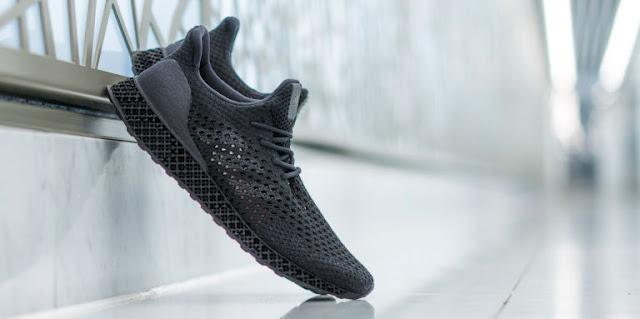 WOW! Sepatu Adidas Cetakan Printer 3D, Dijual dengan Harga Fantastis!