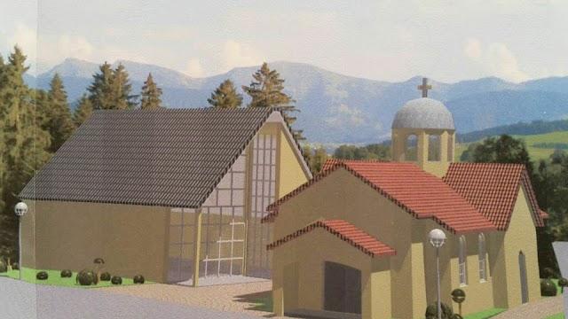 Mazedonische Kirchengemeinde in Dortmund legt Grundstein für eigene Kirche