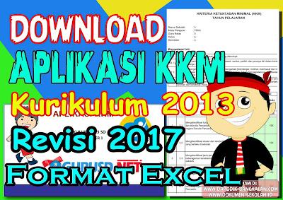 Aplikasi KKM Kelas 2 dan Kelas 5 SD Kurikulum 2013 Revisi Tahun 2018 (Excell)