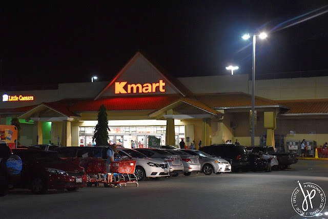 kmart, little caesars, shopping center