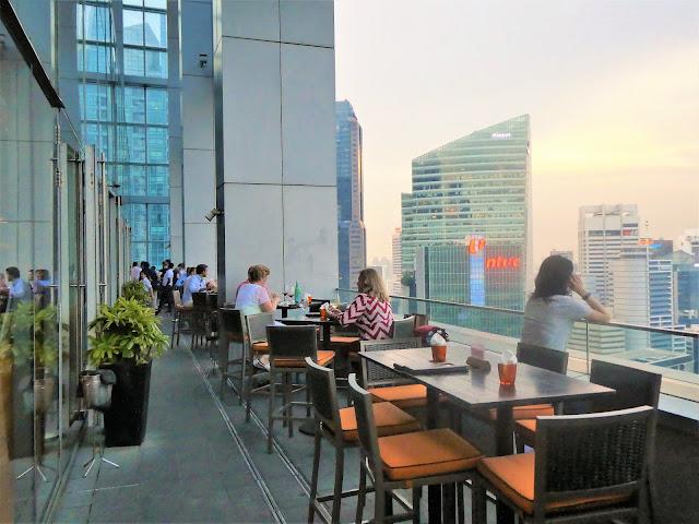 terrassen på LeVeL33- Singapore