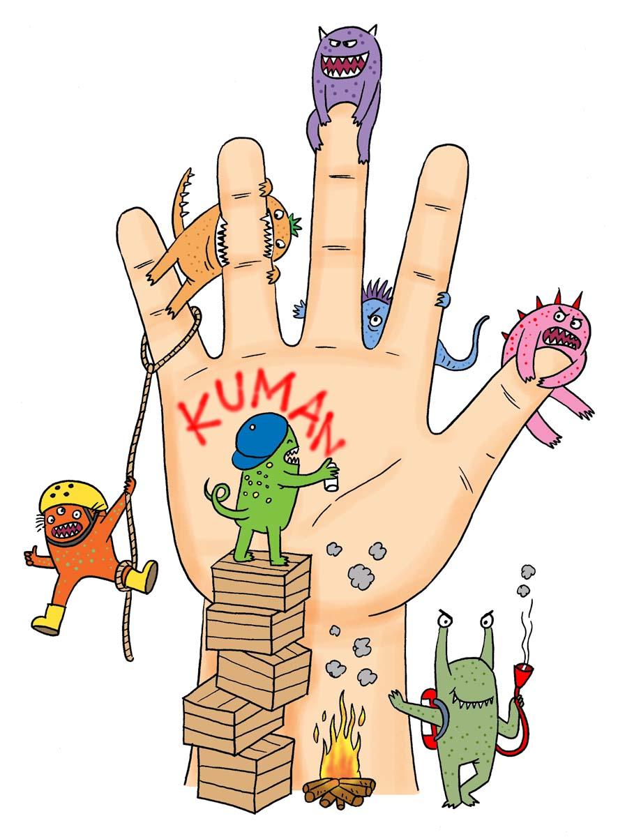 Hasil gambar untuk Bakteri dari Tangan