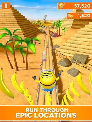 Downlaod Game Despicable Me: Minion Rush Mod (Free Buy + Unlock) Offline di gilaandroid.com