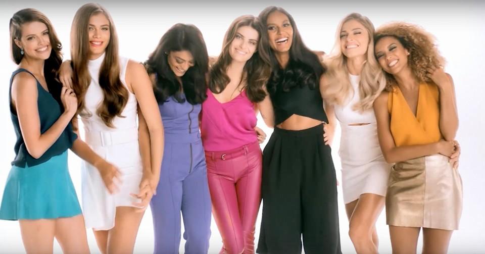 Valentina Sampaio participa de comercial ao lado de Grazi, Taís Araújo e outras famosas