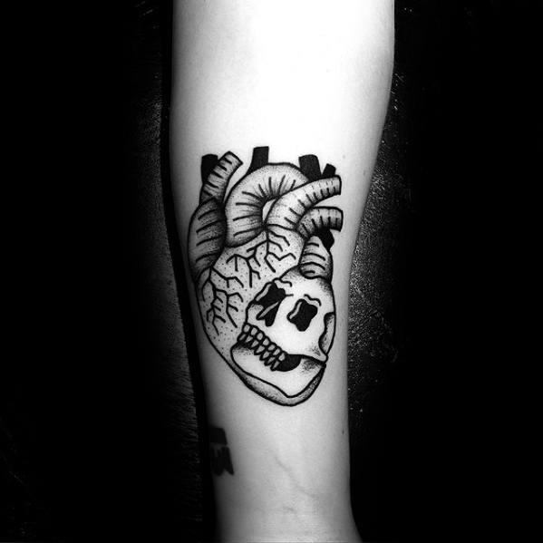 100+ Simple Skull Tattoos Ideas (2019) Old School Images