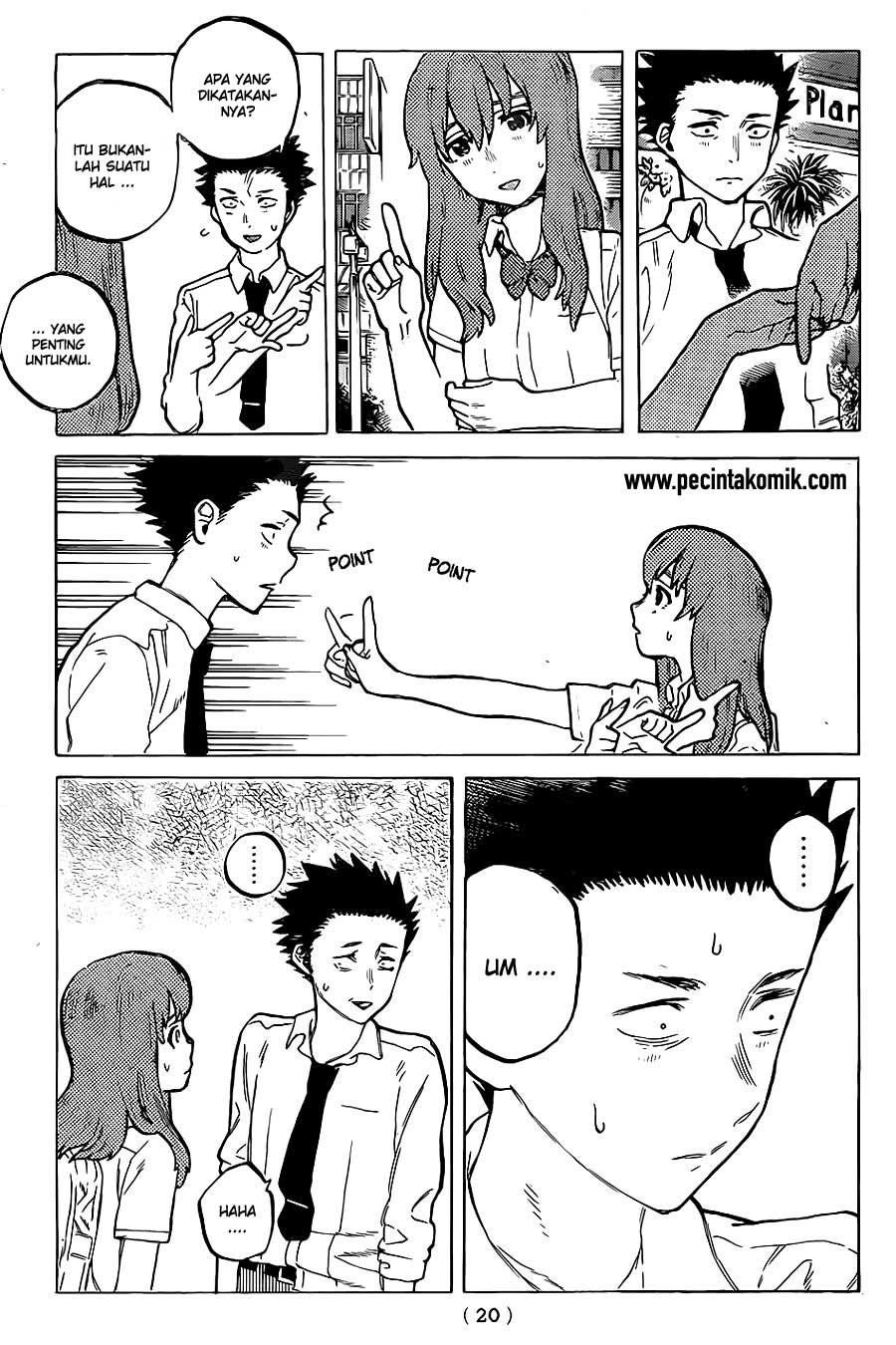 Koe no Katachi Chapter 21-12
