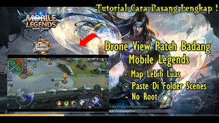 Tutorial Drone View Mobile Legends Patch Badang