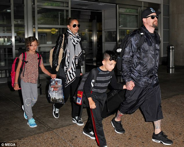 29804b7a5eeb Nicole Richie and her family jetted in to Washington D.C, on Friday, July 7.