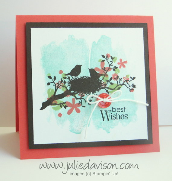 Stampin' Up! World of Dreams + Perpetual Calendar card AW39 #stampinup www.juliedavison.com