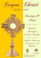Fiesta del Corpus Christi 2016 - Barbate