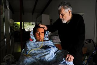 augusto odone e seu filho lorenzo