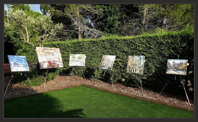 EXPOSICION-PINTURA-ART AL JARDI-PINEDA DE BAGES-PINTURAS-EXPOSICIONES-ARTISTA-PINTOR-ERNEST DESCALS