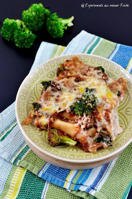 Experimente aus meiner Küche: Cannelloni mit Thunfischfüllung