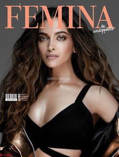 Deepika Padukone Sizzles for Femina February 2018 Magazine