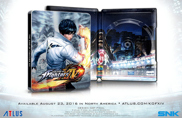 A Atlus, empresa que ficará responsável em distribuir The King of Fighters XIV no ocidente, anunciou a data de lanaçamento de The King of Fighters