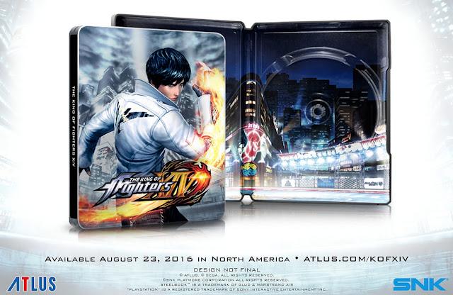 A Atlus, empresa que ficará responsável em distribuir The King of Fighters XIV no ocidente, anunciou a data de lanaçamento de The King of Fighters