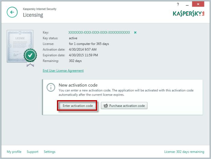 Madison : Kaspersky antivirus serial key free