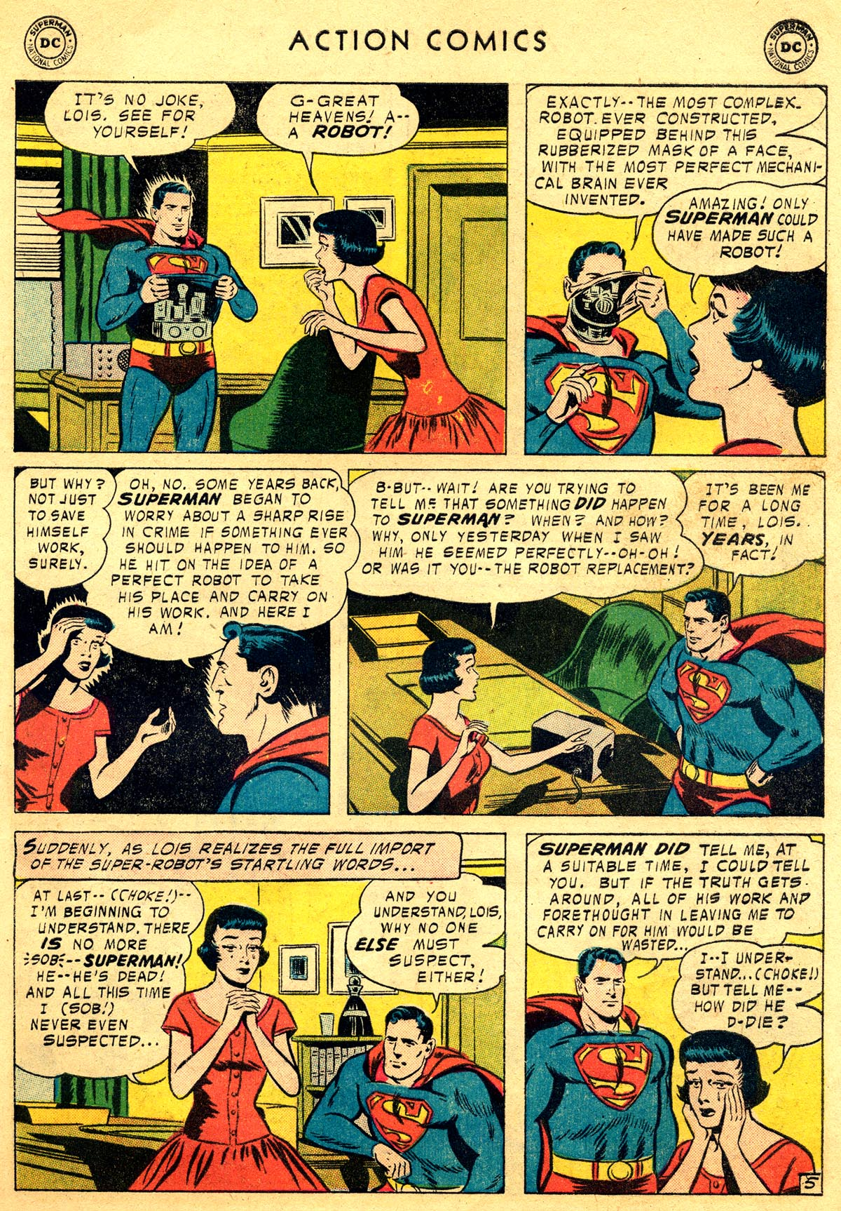 Read online Action Comics (1938) comic -  Issue #225 - 7