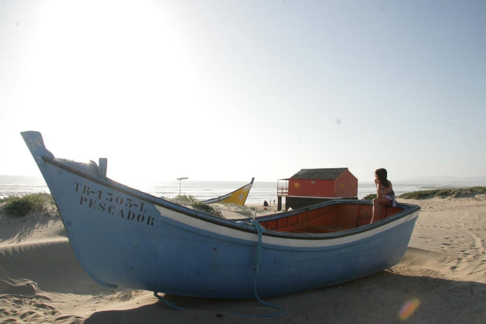 Beautiful Beach Boat