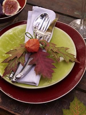 Resultado de imagem para decoração de mesas de outono