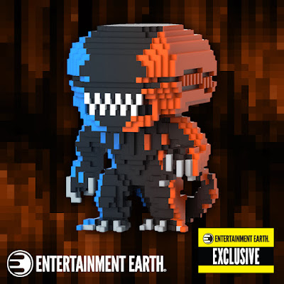 Entertainment Earth Exclusive Alien Video Game Deco 8-Bit Pop! Vinyl Figure by Funko