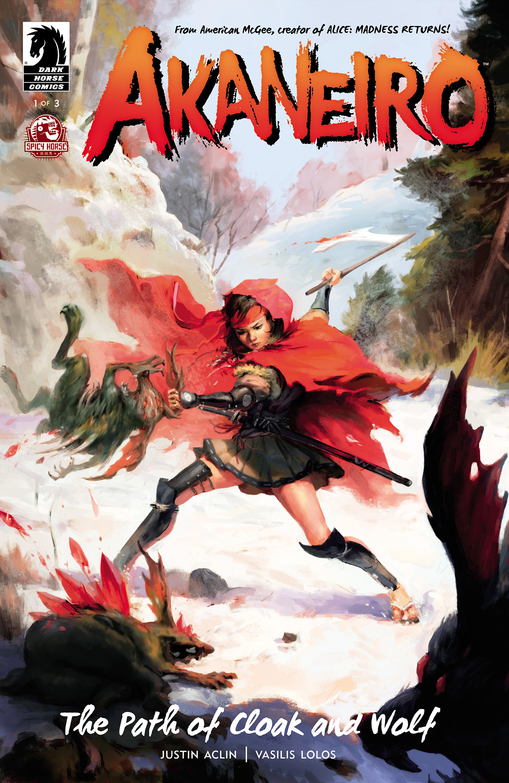 Read online Akaneiro comic -  Issue #1 - 1