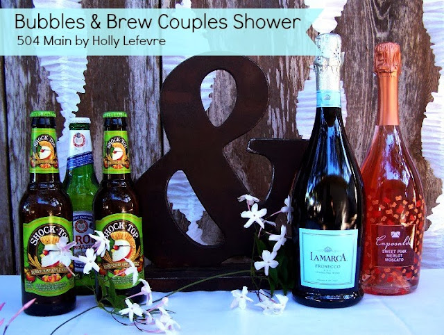 Bubbles and Brew Shower #TargetWedding 504 Main by Holly Lefevre