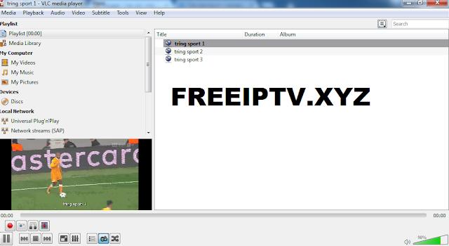 free iptv tring sport