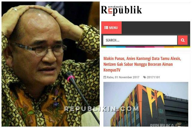 Ruhut Tak Mau Data Tamu Alexis Diumbar Anies, Netizen: Jangan-Jangan Kau Tamunya?