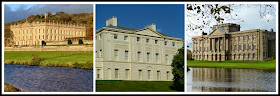 A collage of historic properties - Chatsworth, Kenwood and Lyme Park