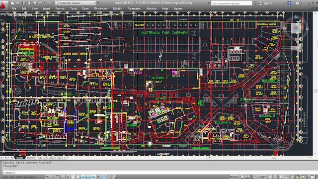 Autocad - Create simplified multi-layer site map from existing